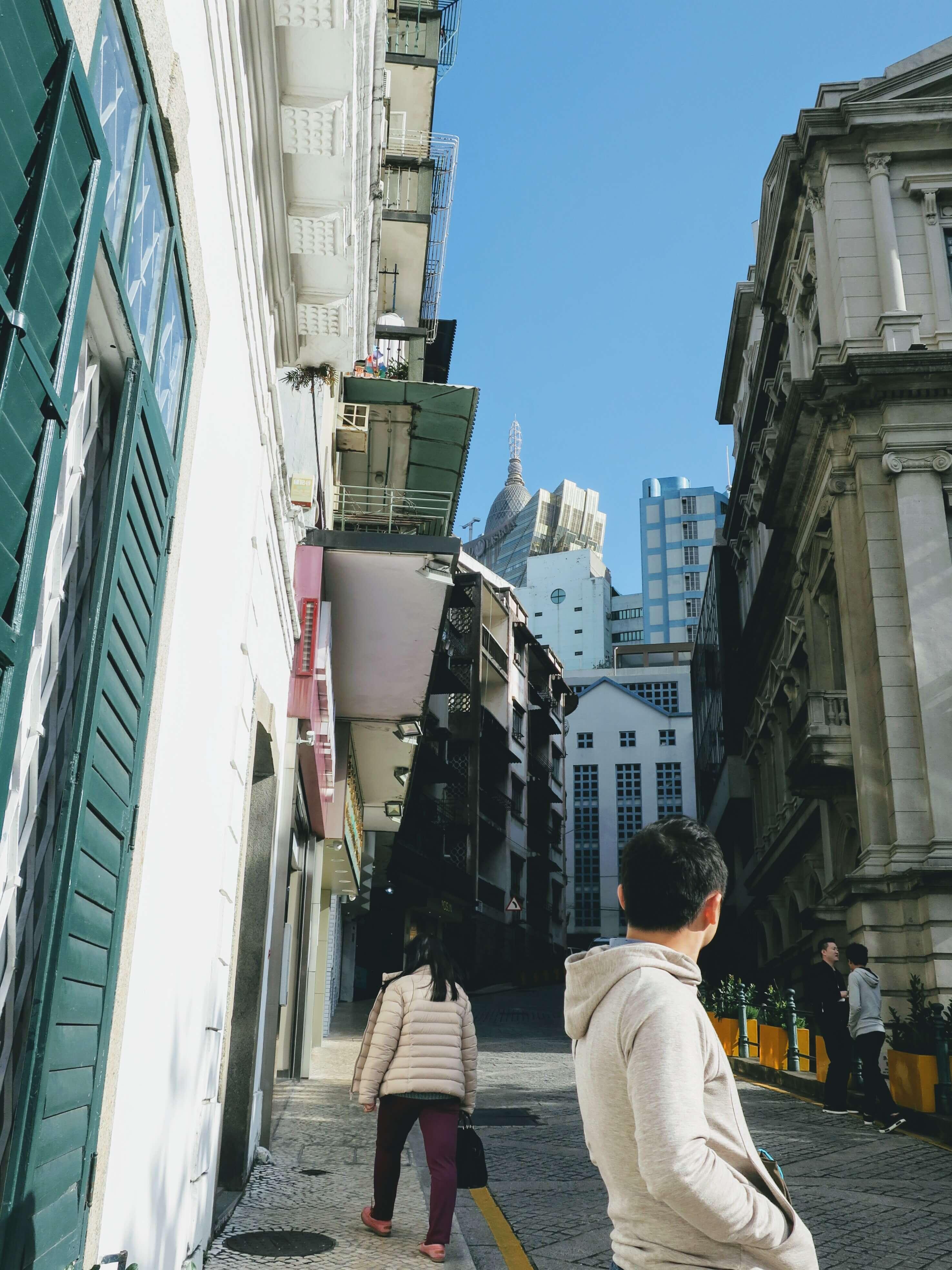 マカオ ポルトガル旧市街