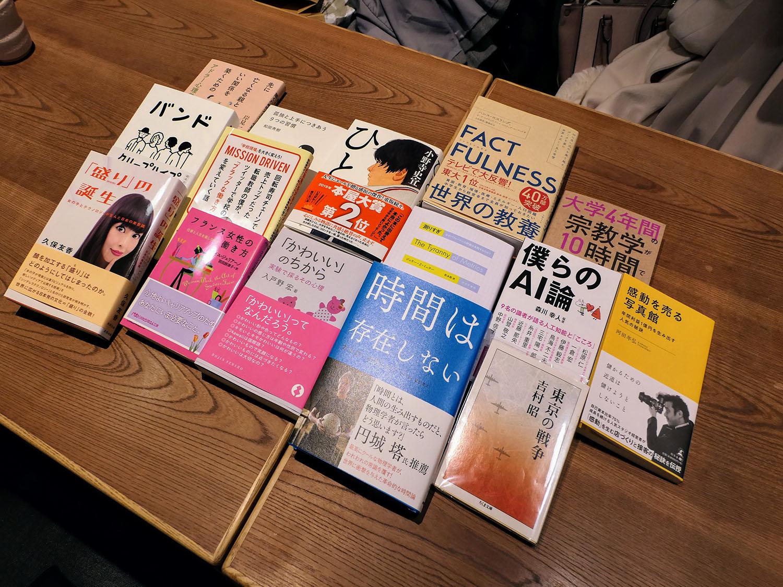 読書会 購入本