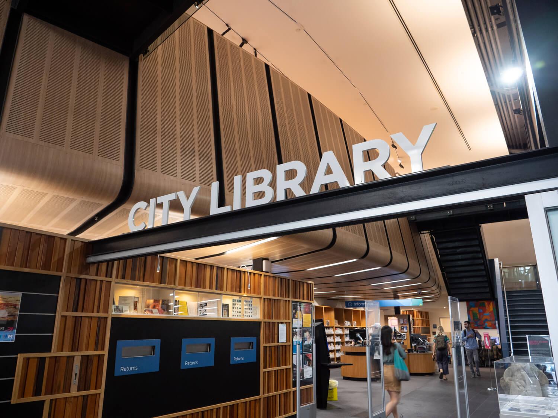 メルボルン 市立図書館