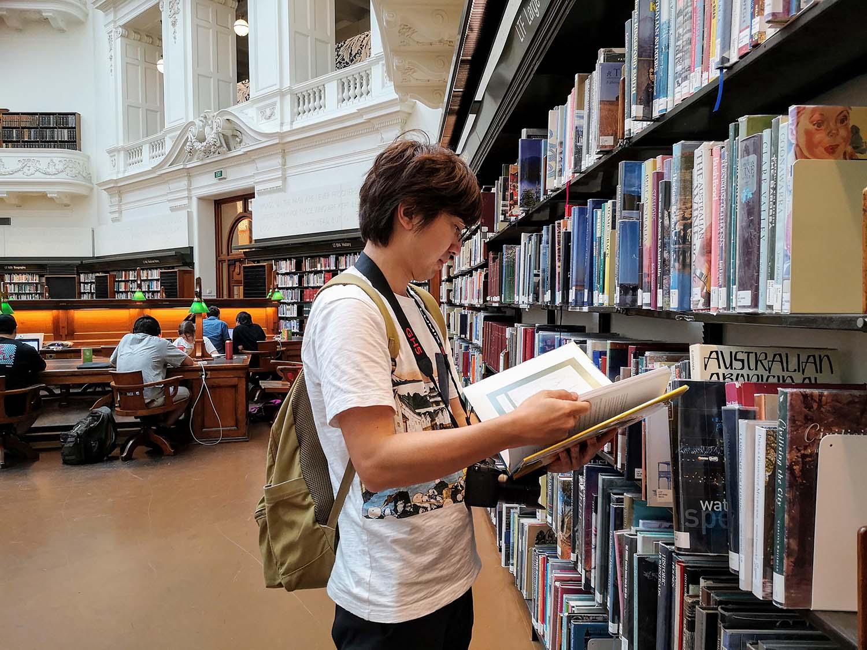 メルボルン 図書館 観光
